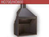 Hogar de leña HO700 - Focgrup
